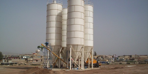 çimento silosu
