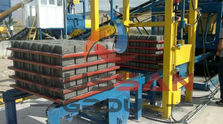 satılık beton parke makinası