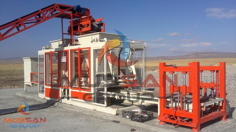 Parke Taşı Üretim Makinaları