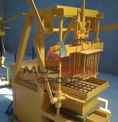 Yarı Otomatik Yürüyen Briket Makinası